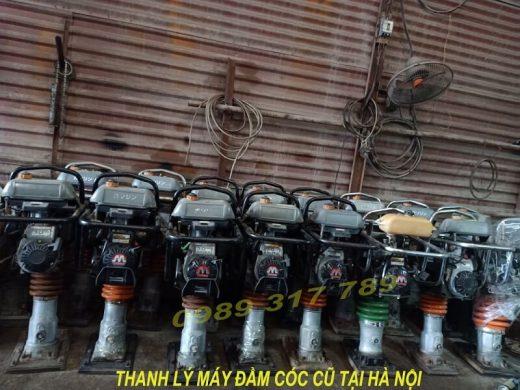 thanh lý máy đầm cóc cũ tại Hà Nội